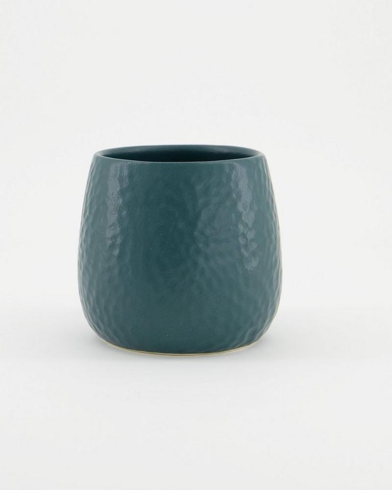 Pret-a-Pot Small Honeycomb Planter -  bottlegreen