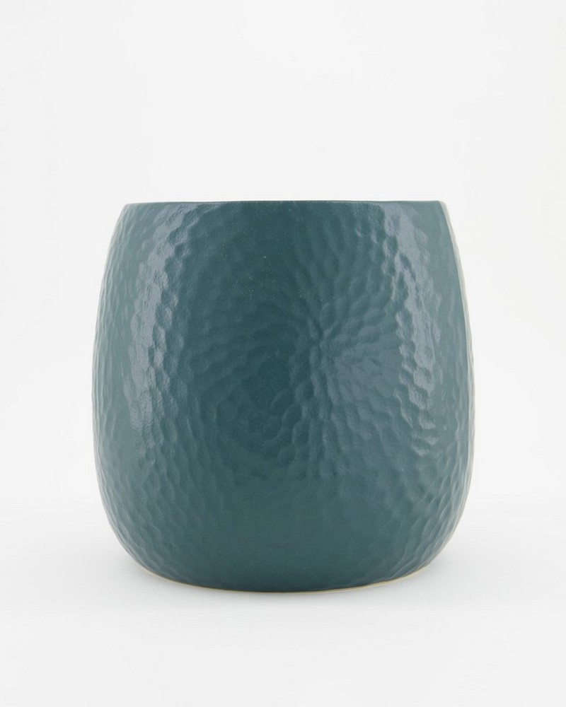Pret-a-Pot Large Honeycomb Planter -  bottlegreen
