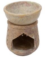 Lattice Oil Burner -  brown