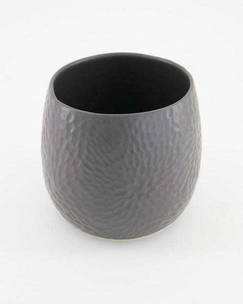 Pret-a-Pot Medium Honeycomb Planter  -  graphite