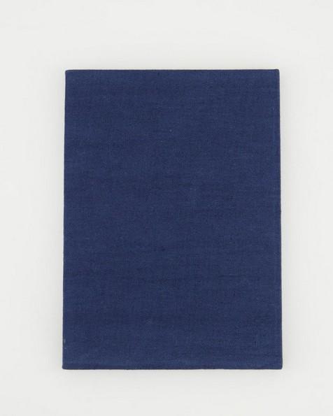 Marseille Linen Notebook  -  navy