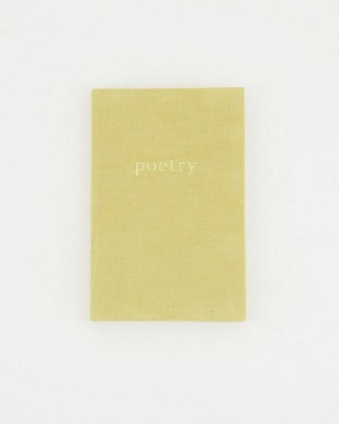 Sahara Linen Notebook  -  yellow