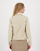 Shazzy Denim Jacket -  stone