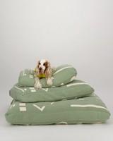Script Dog pillow Medium -  assorted