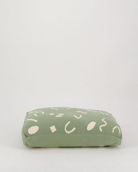 Script Dog Pillow Small -  assorted