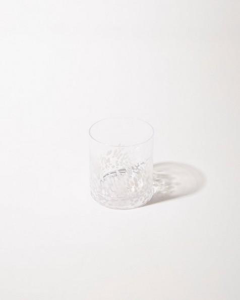 Short Pebble Tumbler -  white