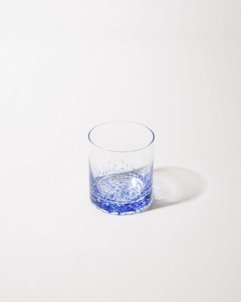 Short Pebble Tumbler -  blue
