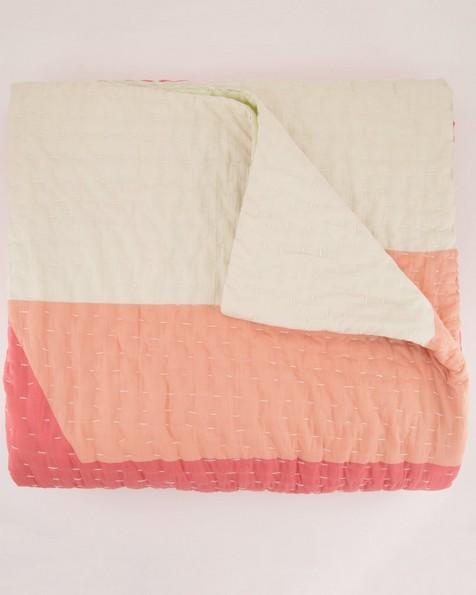 Amber Colourblock Picnic Quilt -  assorted