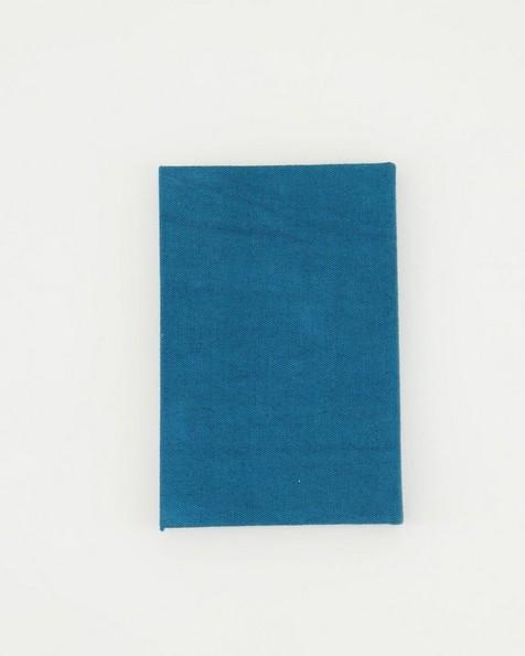 Nightfall Linen Notebook  -  teal
