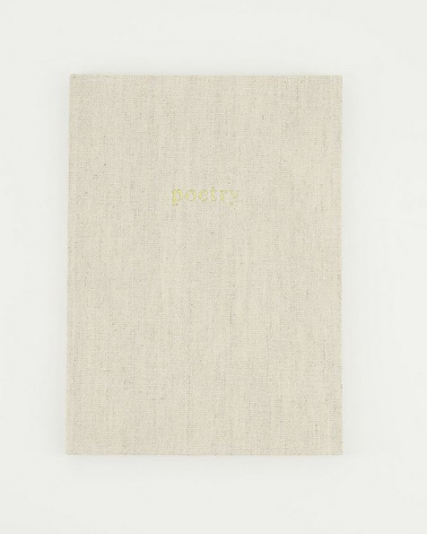Milk Linen Notebook  -  milk