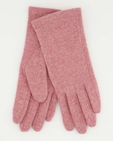 Anna May Wool Gloves -  dustypink