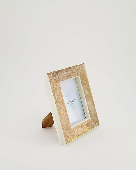 Wood & Bone Frame -  brown