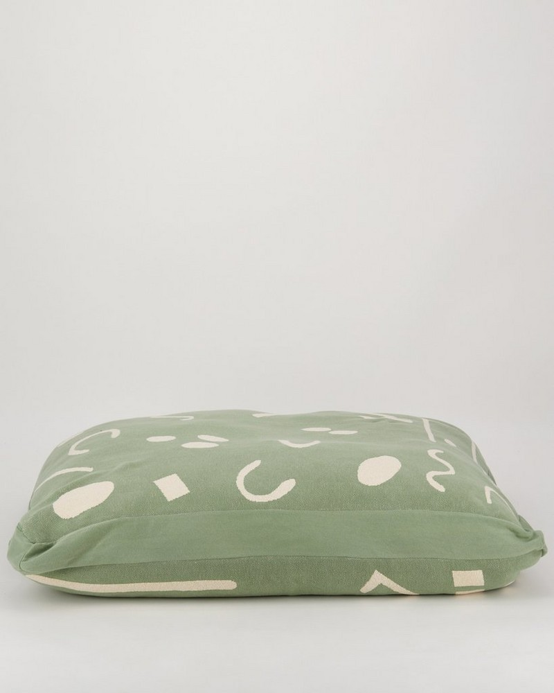 Script Dog Pillow Large -  assorted