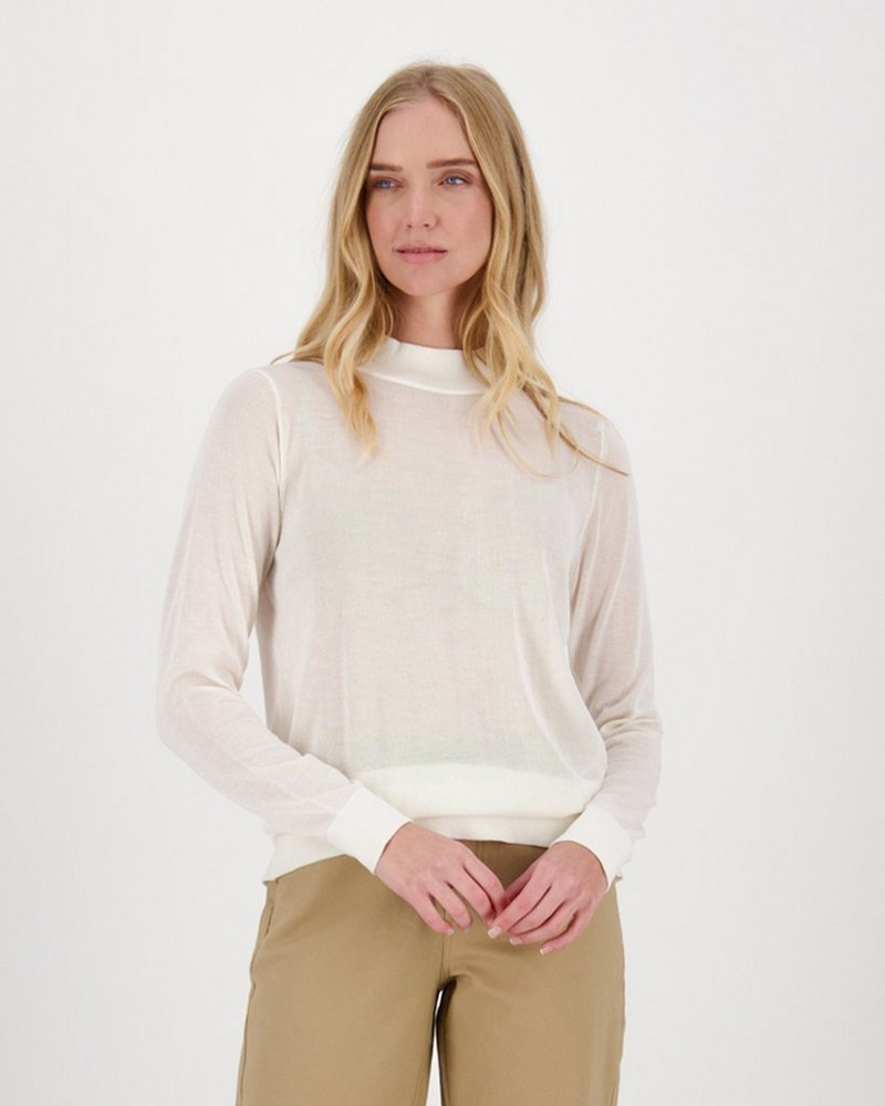 Hazel Knit Pullover -  milk