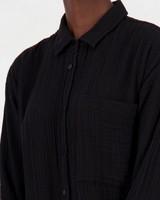 Frankie Loungewear Dress -  black