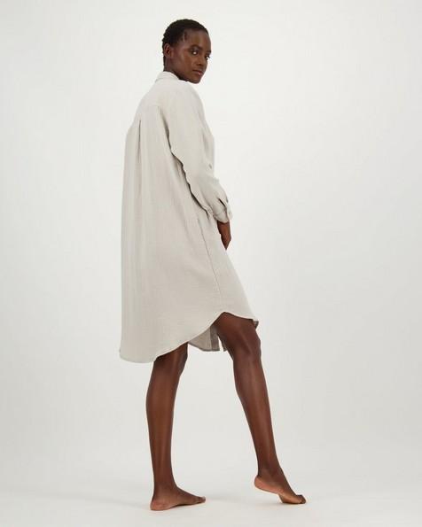 Frankie Loungewear Dress -  lightgrey
