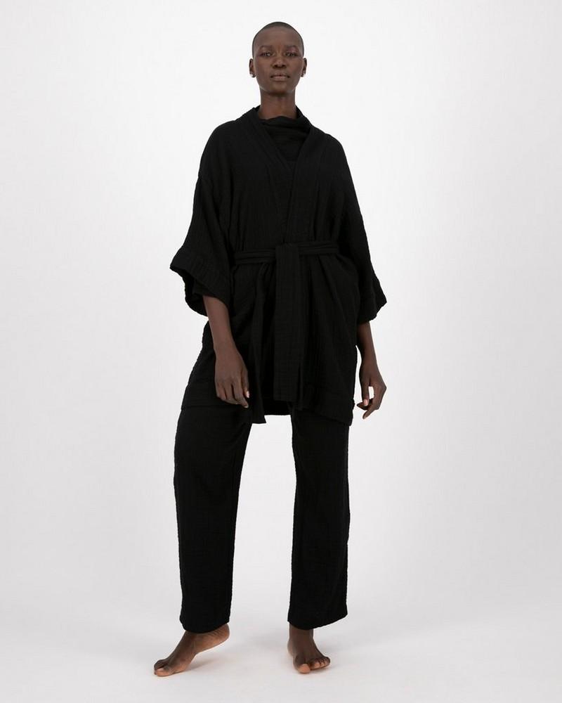 Frankie Kimono -  black