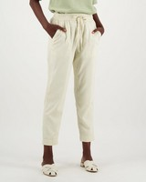 Shiloh Relaxed Twill Jogger -  cream
