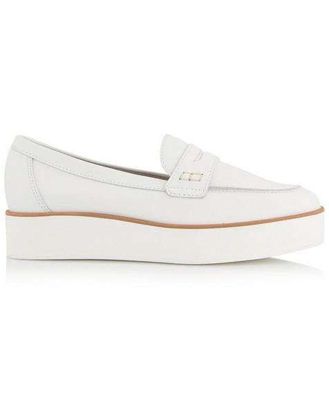 Mila Slip-On Loafer -  white