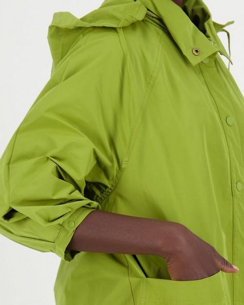 Claudia Parka Jacket -  palegreen