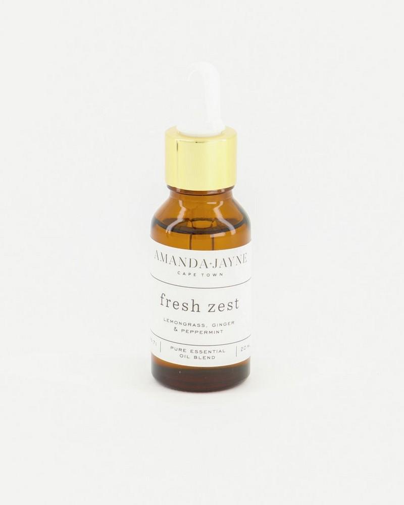 Amanda Jayne Fresh Zest Fragrance Oil -  white