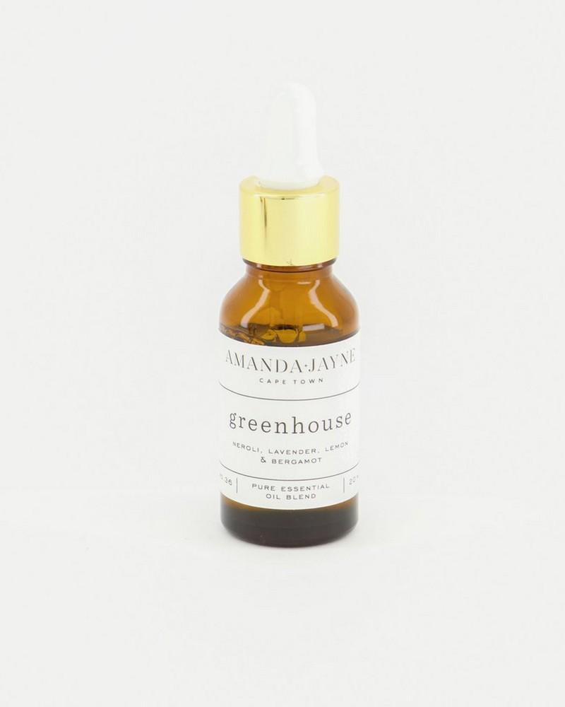 Amanda Jayne Greenhouse Fragrance Oil  -  white