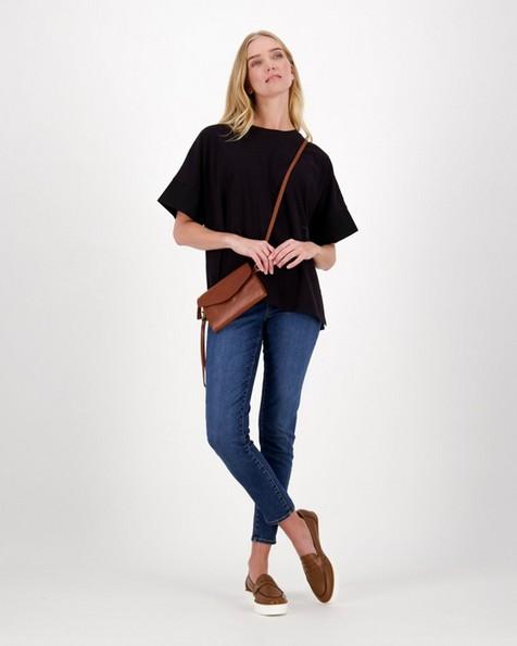 Remington Mercerized T-Shirt -  black