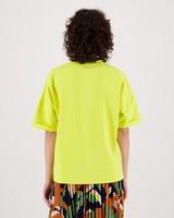 Betty Sweat T-Shirt -  yellow