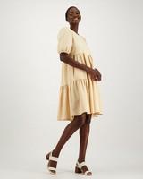 Tara A-line Dress -  orange