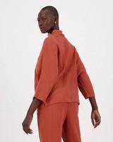 Frankie Loungewear Top -  rust