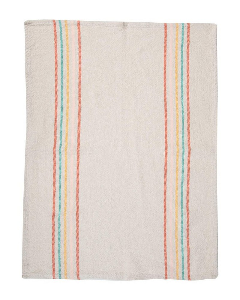 Barrydale Sunbaked Stripe Tea Towel -  assorted