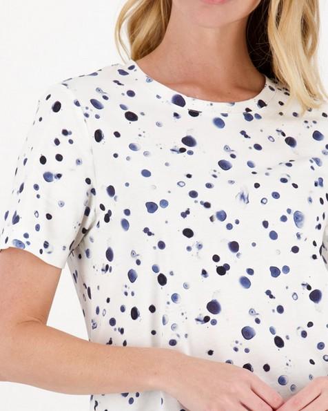 Lynx Printed T-Shirt -  stone