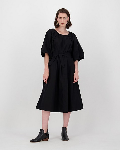 Devon Dress -  black