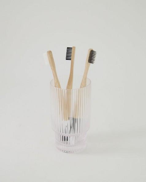 Bamboo Toothbrush -  black