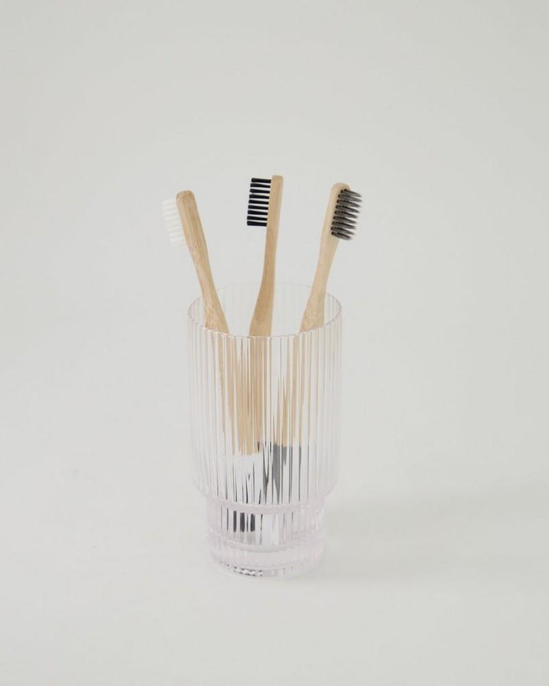 Bamboo Toothbrush -  grey