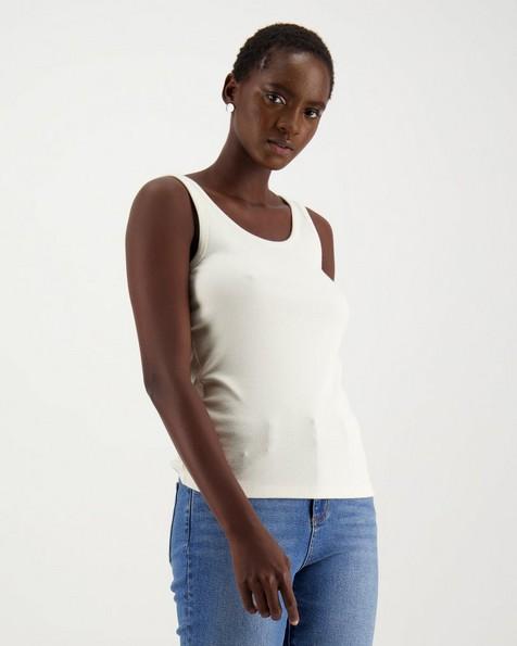 Poetry Leighton Vest -  white