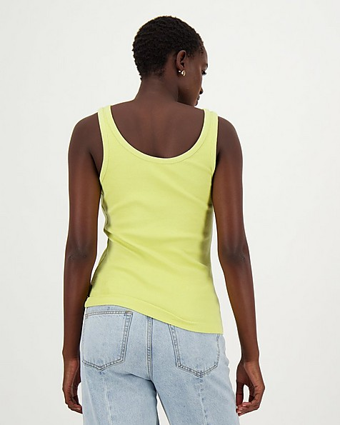 Poetry Leighton Vest -  lime