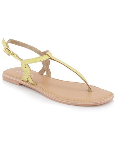 Juli Sandal  -  yellow