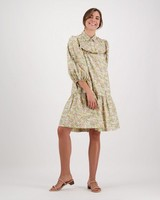 Poetry Indy Printed Dress -  yellow