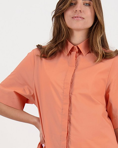 Kora Tunic Dress -  peach