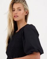 Fawn Dress -  black