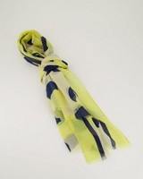 Julia Dotted Scarf -  yellow
