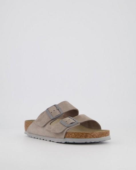Birkenstock Arizona Suede SFB #1020507 R Sandal (Ladies) -  grey
