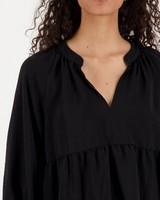 Ida Tier Top -  black