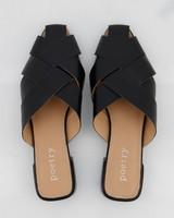 Kate Slip-On Shoe  -  black