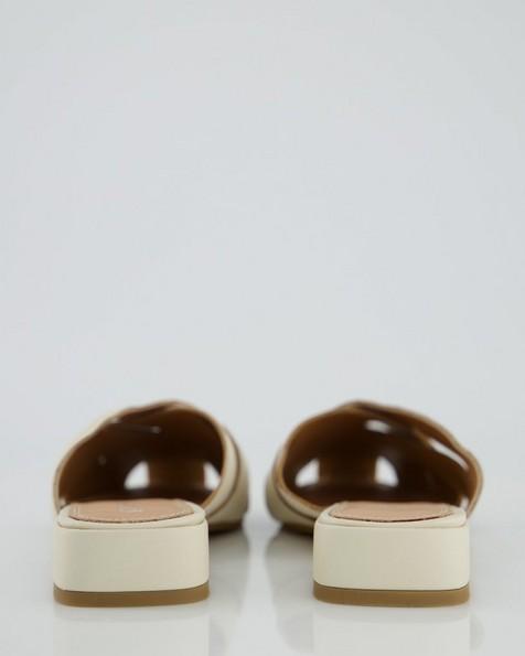 Kate Slip-On Shoe  -  bone