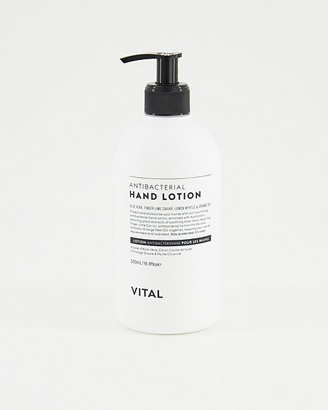 Vital Anti-Bacterial Hand Lotion -  white