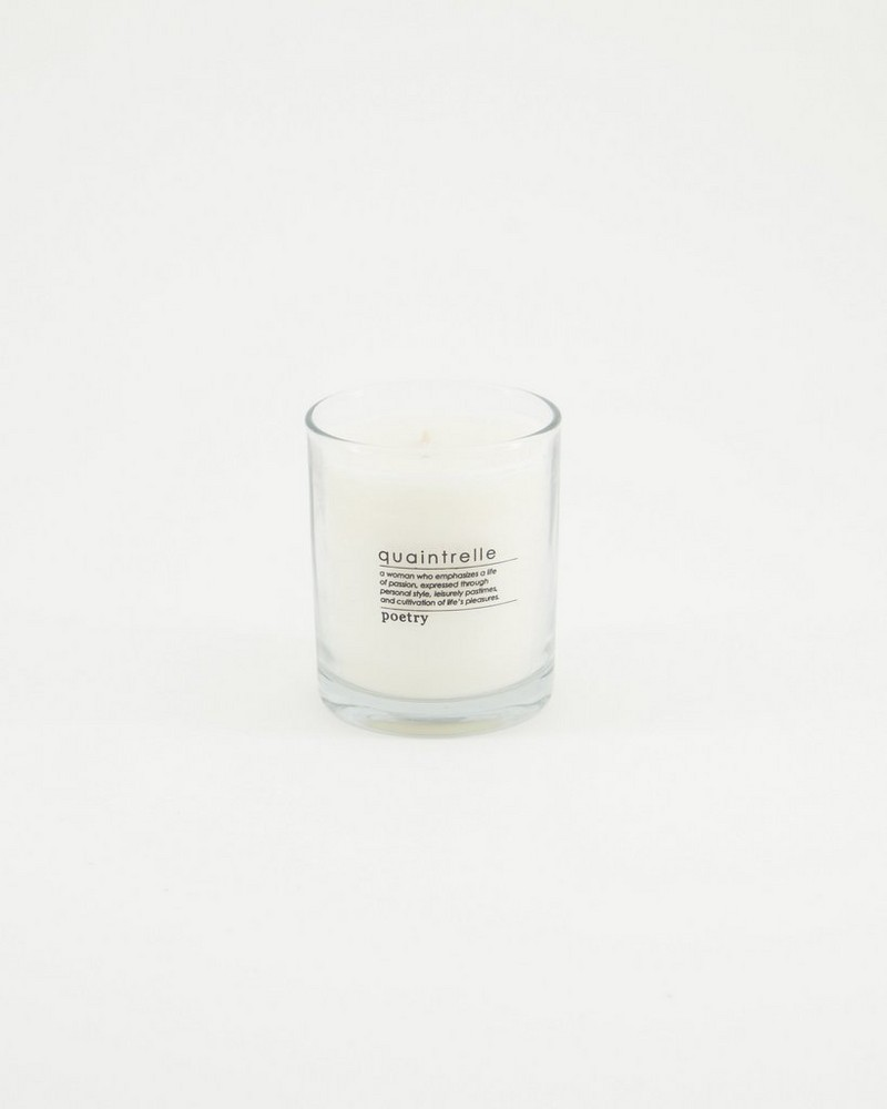 Quaintrelle Candle -  yellow