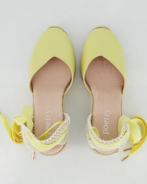 Alexis Wedge  -  yellow