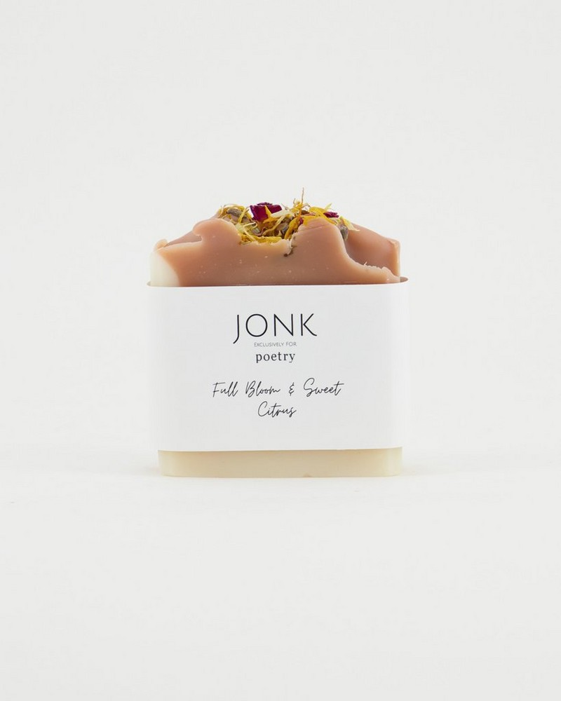 Jonk Full Bloom and Sweet Citrus Soap -  oatmeal